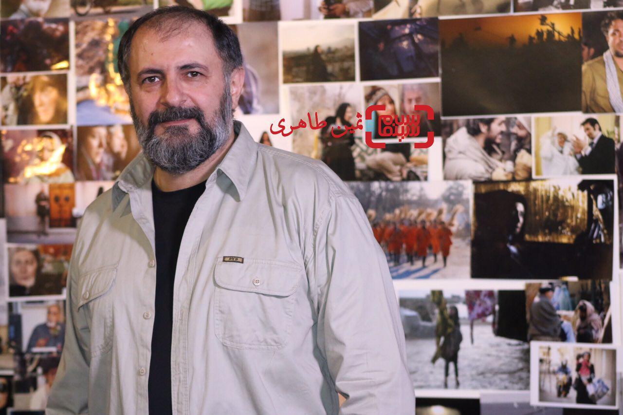 علی دهکردی در سومین جشن عکاسان سینمای ایران