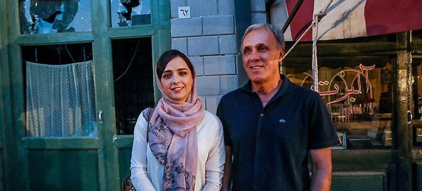 حمید علیدوستی از بازیگر شدن دخترش ترانه می گوید