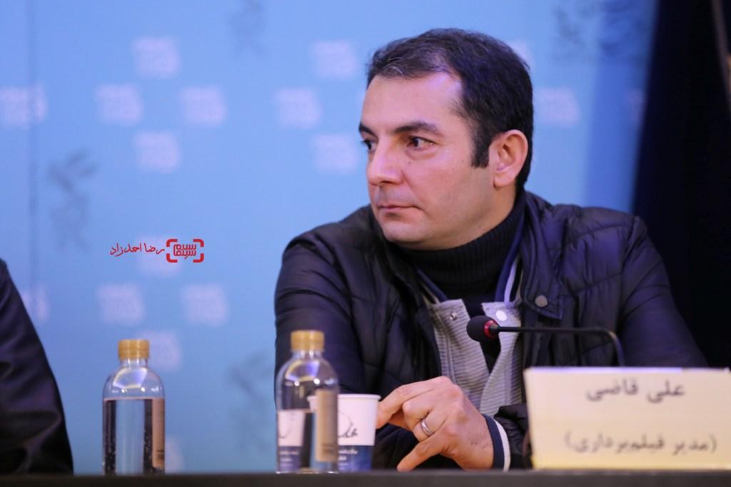 علی قاضی در نشست فیلم «ویلایی ها» در جشنواره فجر 35