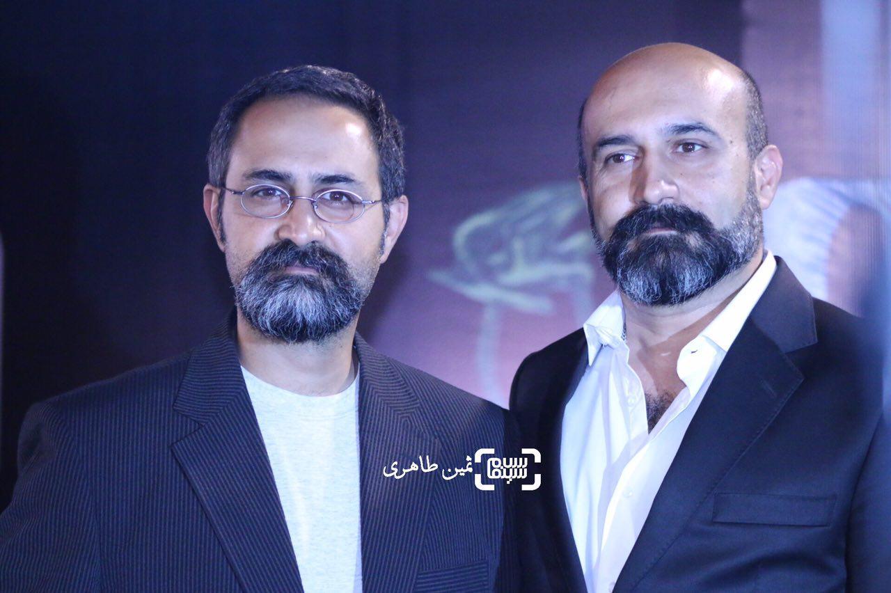 وحید جلیلوند و برادرش علی جلیلوند در جشن خانه سینما
