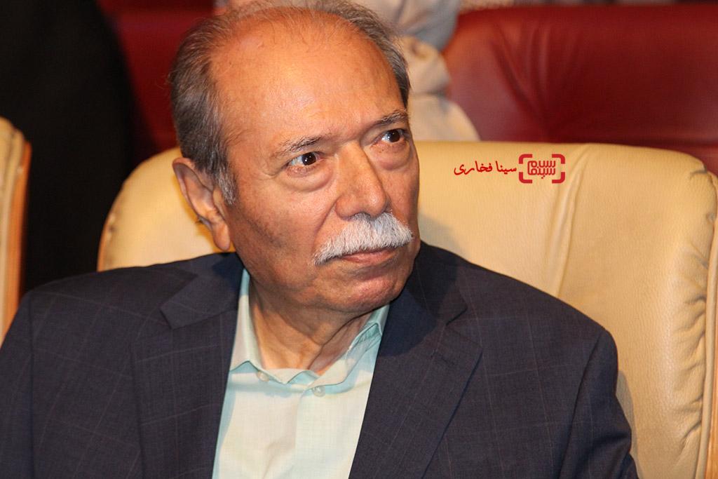 علی نصیریان در اختتامیه جشنواره فیلم مقاومت