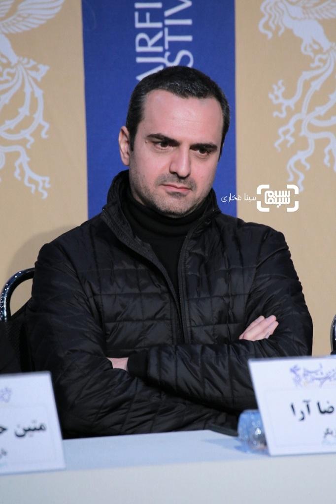 علیرضا آرا - گزارش تصویری - نشست خبری فیلم «مردن در آب مطهر» - جشنواره فیلم فجر 38