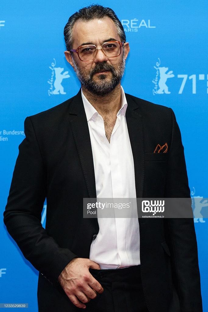 علیرضا ثانی فر در اکران فیلم سینمایی قصیده گاو سفید در جشنواره فیلم برلین