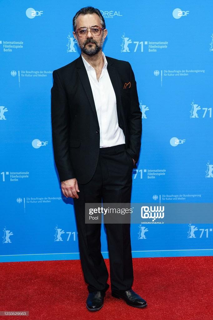 علیرضا ثانی فر در اکران قصیده گاو سفید در جشنواره فیلم برلین