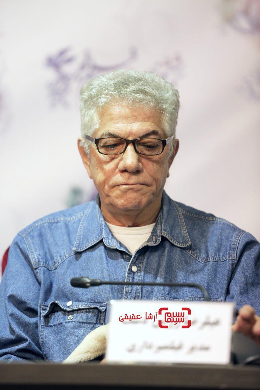 علیرضا زرین دستدر اکران فیلم «جشن دلتنگی» در سی و ششمین جشنواره فیلم فجر