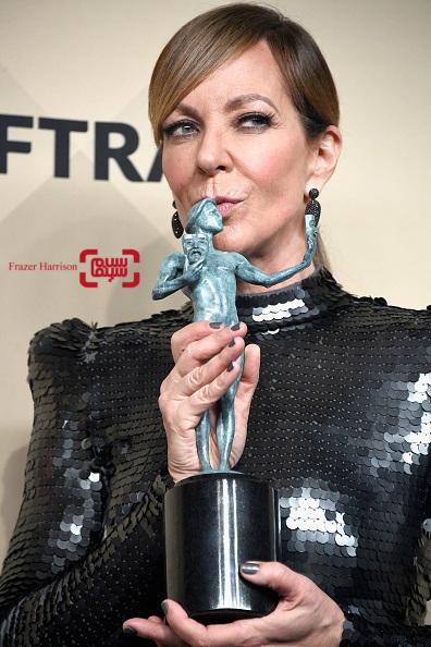 الیسون جانی برنده جایزه انجمن بازیگران فیلم ۲۰۱۸