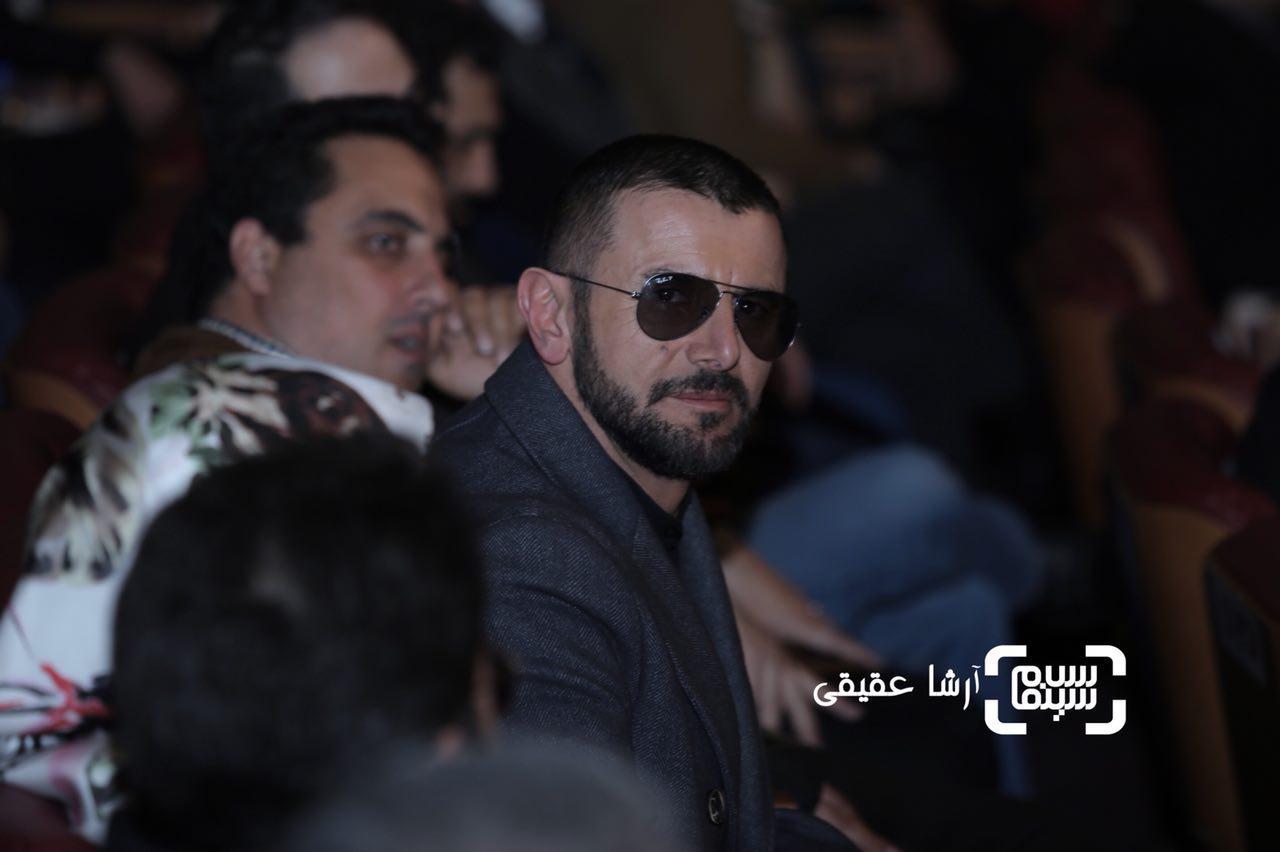 امین حیایی در اختتامیه سی و ششمین جشنواره فیلم فجر