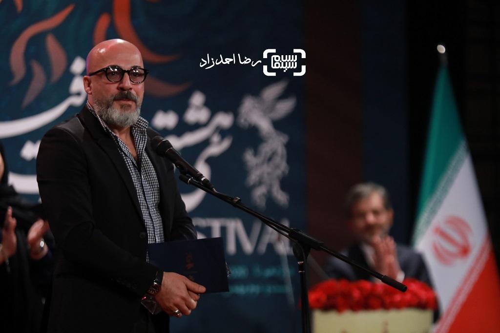 امیر آقایی - گزارش تصویری - اختتامیه جشنواره فیلم فجر 38(بخش اول)