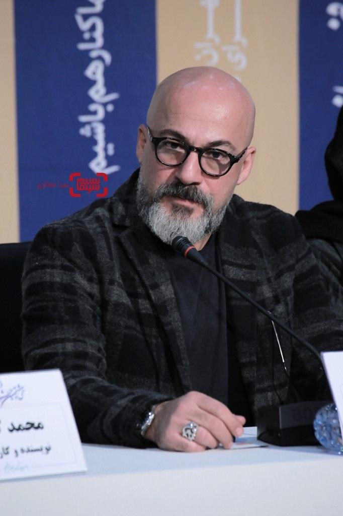 امیر آقایی - گزارش تصویری - نشست خبری «شنای پروانه» در جشنواره فجر 38