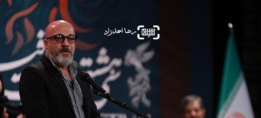 صحبت های سانسور شده امیر آقایی و محمد حسین مهدویان در اختتامیه جشنواره فجر + ویدیو