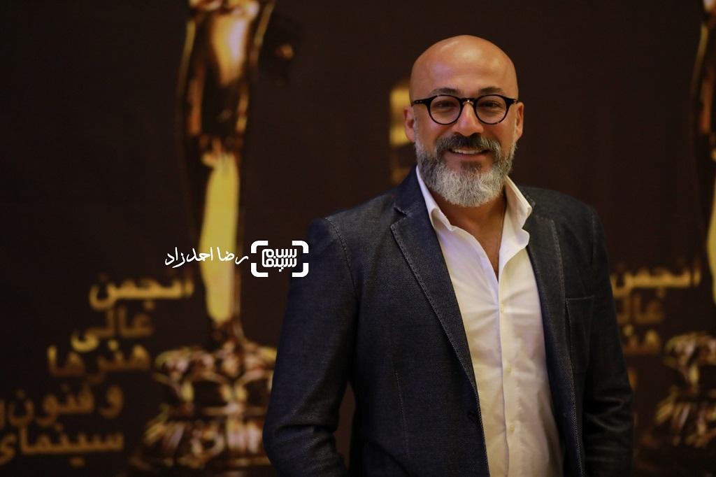 امیر آقایی/ بیست و یکمین جشن خانه سینما/ گزارش تصویری 2
