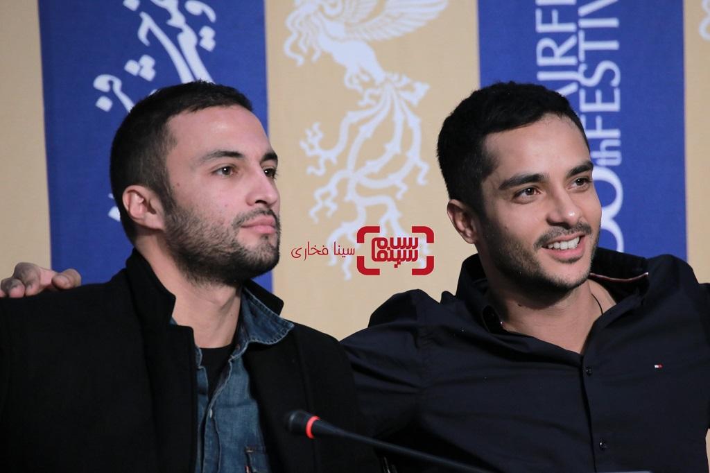 امیر جدیدی - ساعد سهیلی - نشست خبری فیلم «روز صفر» در جشنواره فجر 38
