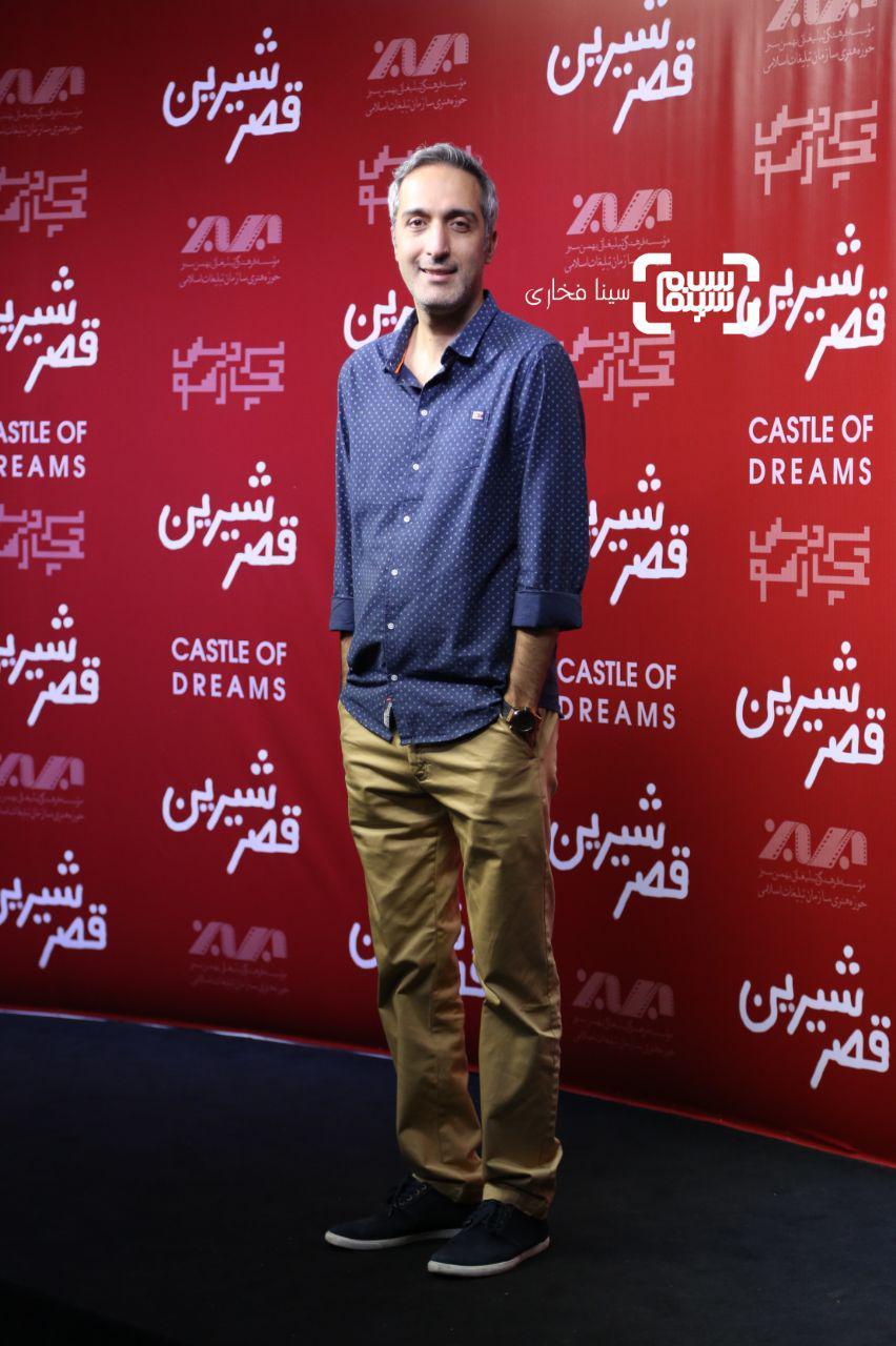 عکس امیرمهدی ژوله در اکران خصوصی فیلم «قصر شیرین»