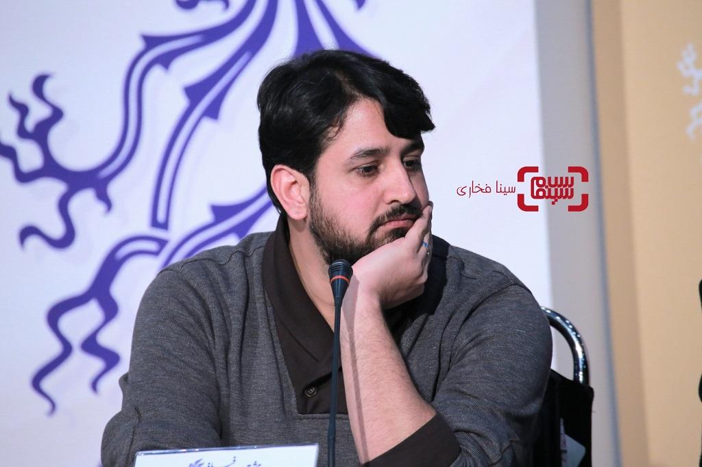 امیرعباس ربیعی - گزارش تصویری - نشست خبری فیلم «لباس شخصی» - جشنواره فیلم فجر 38