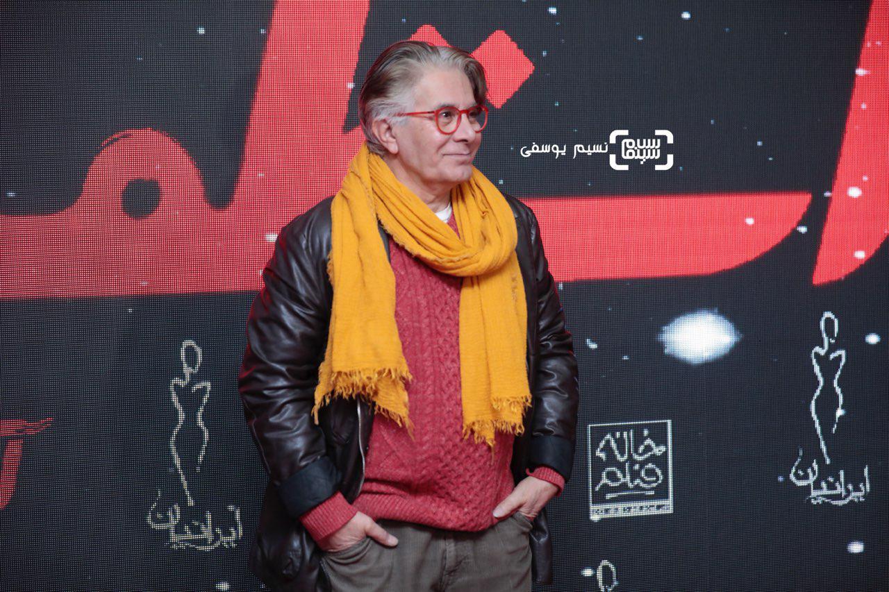امیرحسین قهرایی در اکران خصوصی فیلم آستیگمات
