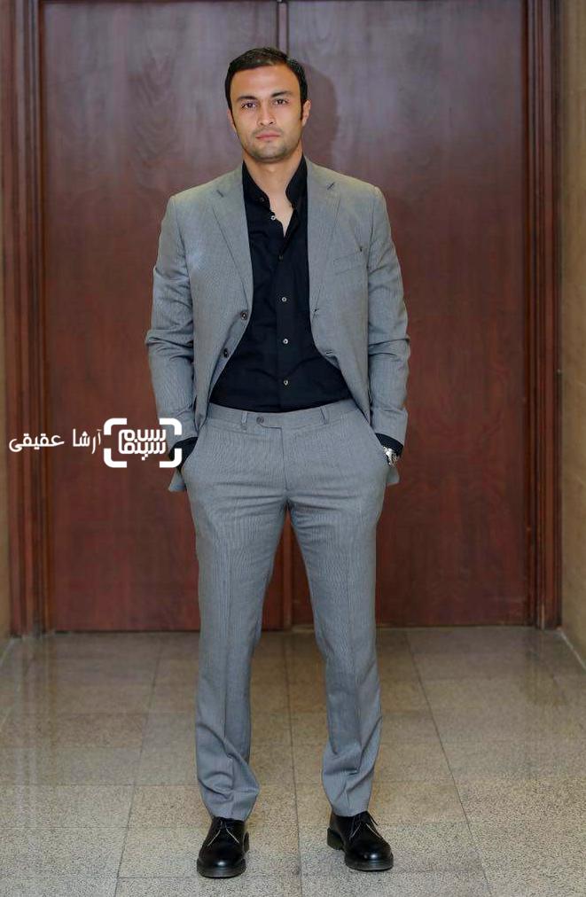 امیر جدیدی در اختتامیه سی و ششمین جشنواره فیلم فجر
