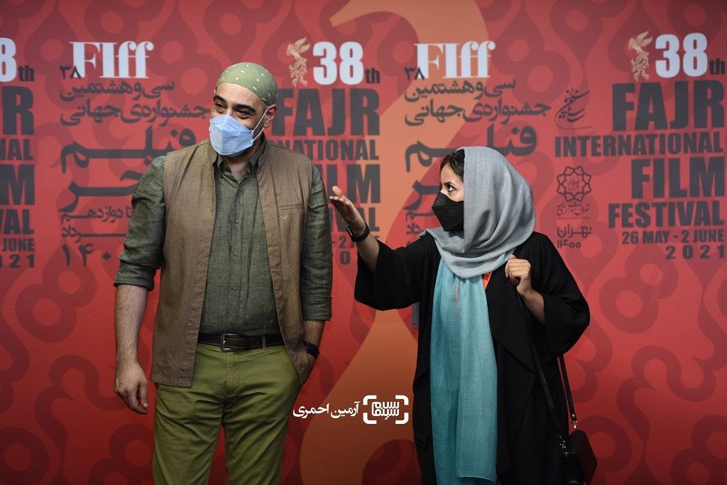 امیریل ارجمند - مریم بحرالعلومی - سی وهشتمین جشنواره جهانی فیلم فجر