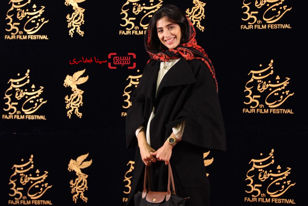 آناهیتا افشار در اکران فیلم «ویلایی ها» در جشنواره فجر 35