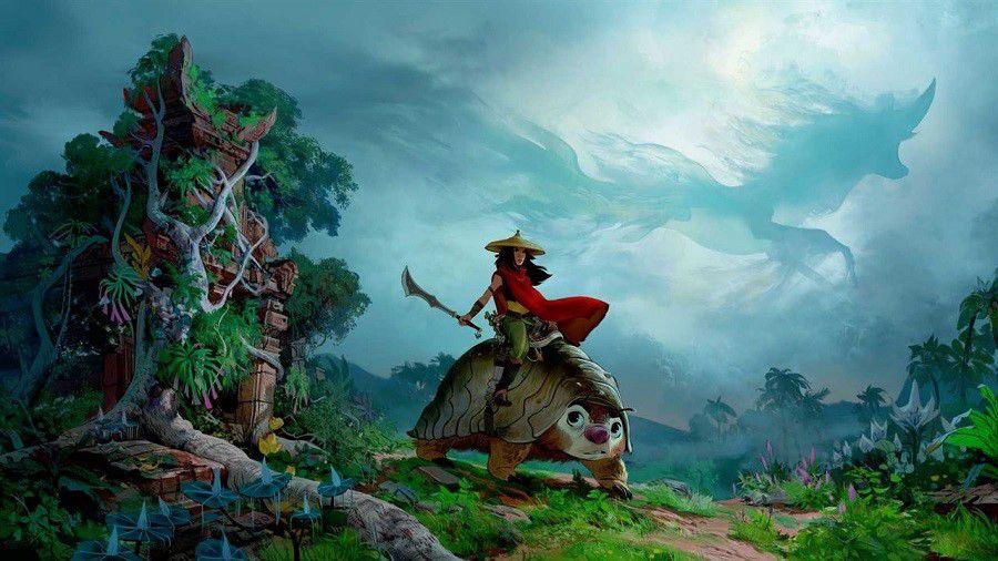 ١١ انیمیشن ٢٠٢٠ که بی صبرانه منتظرشان هستیم - رایا و آخرین اژدها / Raya and the Last Dragon