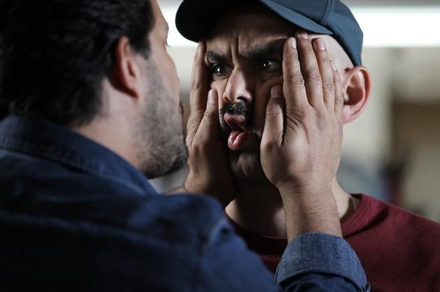 arayeshghaliz.hard makeup movie.فیلم آرایش غلیظ. حمید نعمت الله.حبیب رضایی. حامد بهداد
