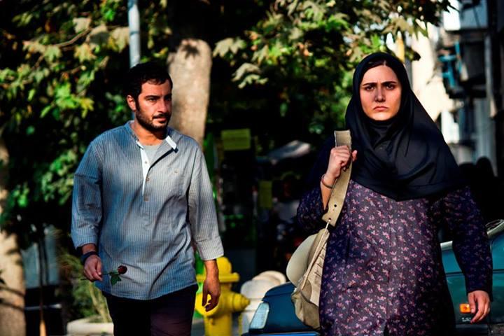 باران کوثری و نوید محمدزاده فیلم عصبانی نیستم