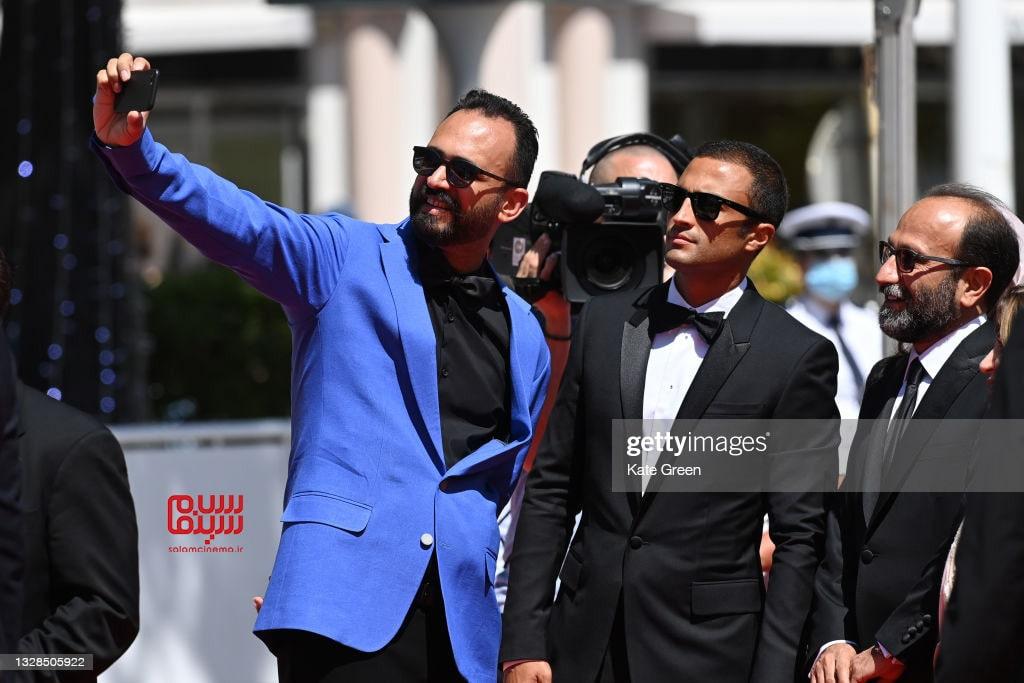 اصغر فرهادی - امیر جدیدی - جنشواره فیلم کن 2021