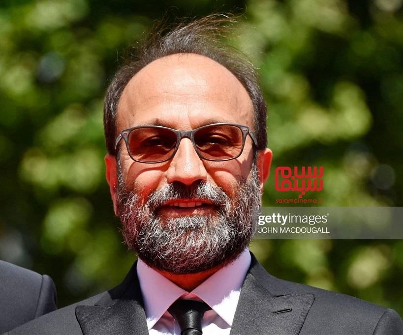 اصغر فرهادی کارگردان فیلم قهرمان در کن