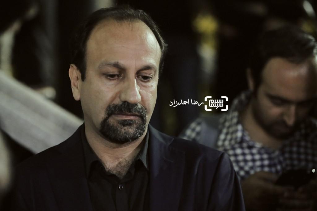 اصغر فرهادی در مراسم یادبود عباس کیارستمی