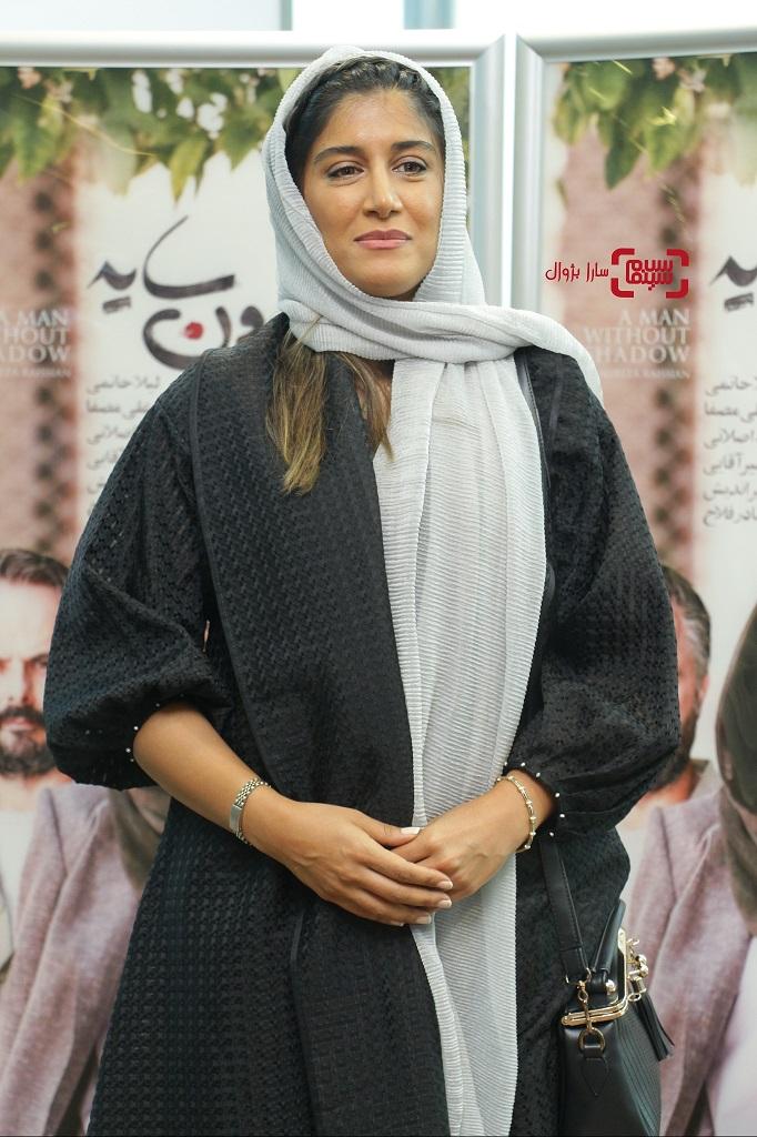 گزارش تصویریاکران خصوصی فیلم «مردی بدون سایه» آزاده اسماعیل خانی دختر گوهر خیراندیش
