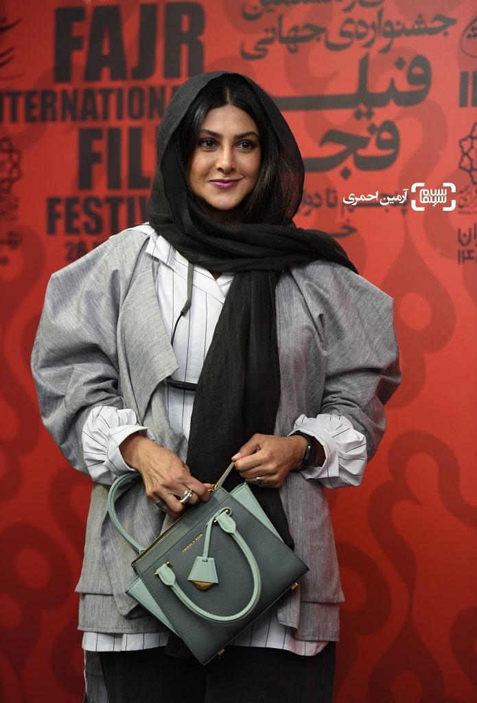 سی و هشتمین جشنواره جهانی فیلم فجر - آزاده صمدی - روز دوم