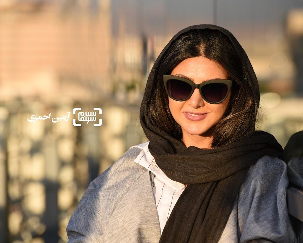 آزاده صمدی در روز دوم جشنواره جهانی فیلم فجر - چارسو