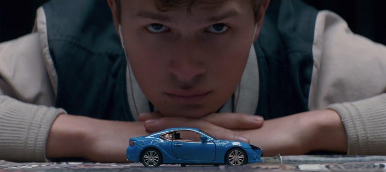 نمایی از فیلم سینمایی بیبی راننده