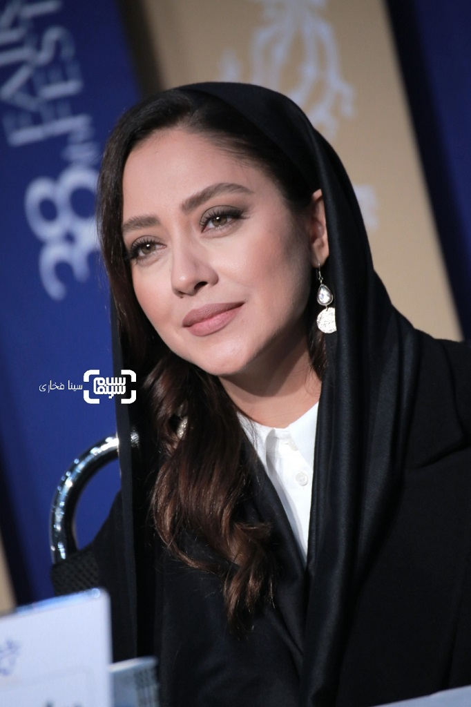 بهاره کیان افشار - گزارش تصویری - نشست خبری فیلم «پسرکشی» - جشنواره فجر 38