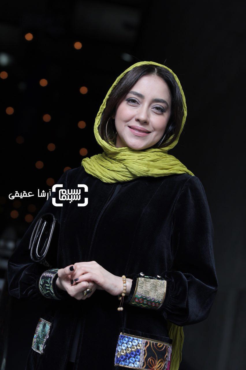بهاره کیان افشار در اکران فیلم «ماهورا» در سی و ششمین جشنواره فیلم فجر