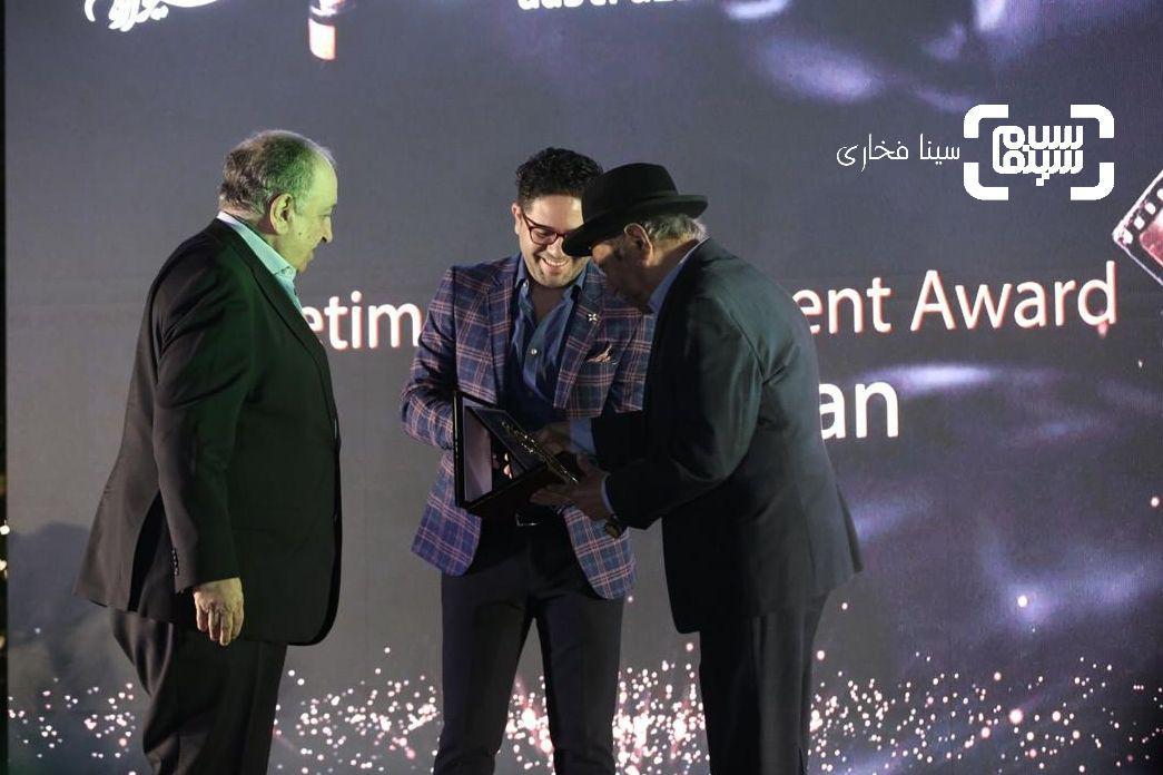 علی نصیریانوبهمن فرمان آرا در هشتمین جشنواره فیلمهای ایرانی استرالیا