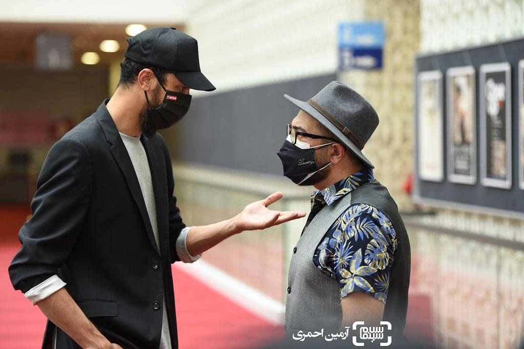 مجید صالحی - بهرام افشاری - صحنه زنی - سی و هشتمین جشنواره جهانی فیلم فجر