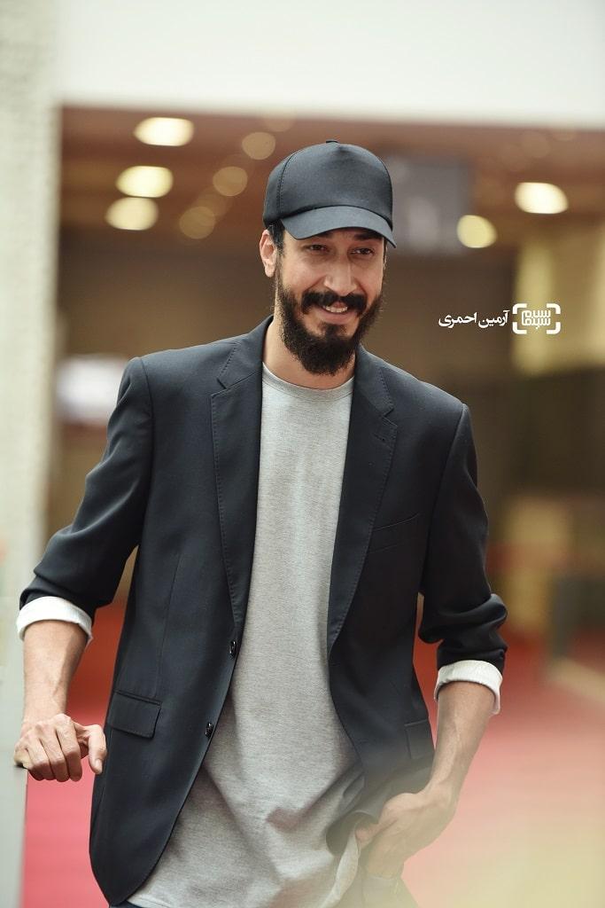 بهرام افشاری - صحنه زنی - جشنواره جهانی فجر 38