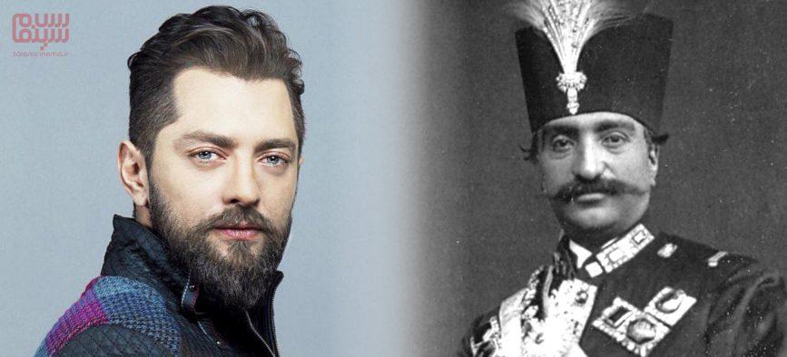 بهرام رادان بازیگر نقش ناصرالدین شاه در سریال «جیران»