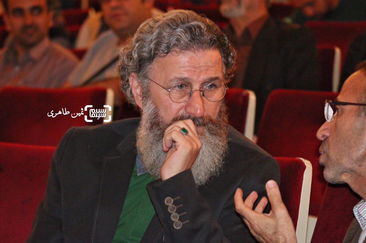 عکس بهرام عظیمی در نکوداشت رامبد جوان در جشنواره سما