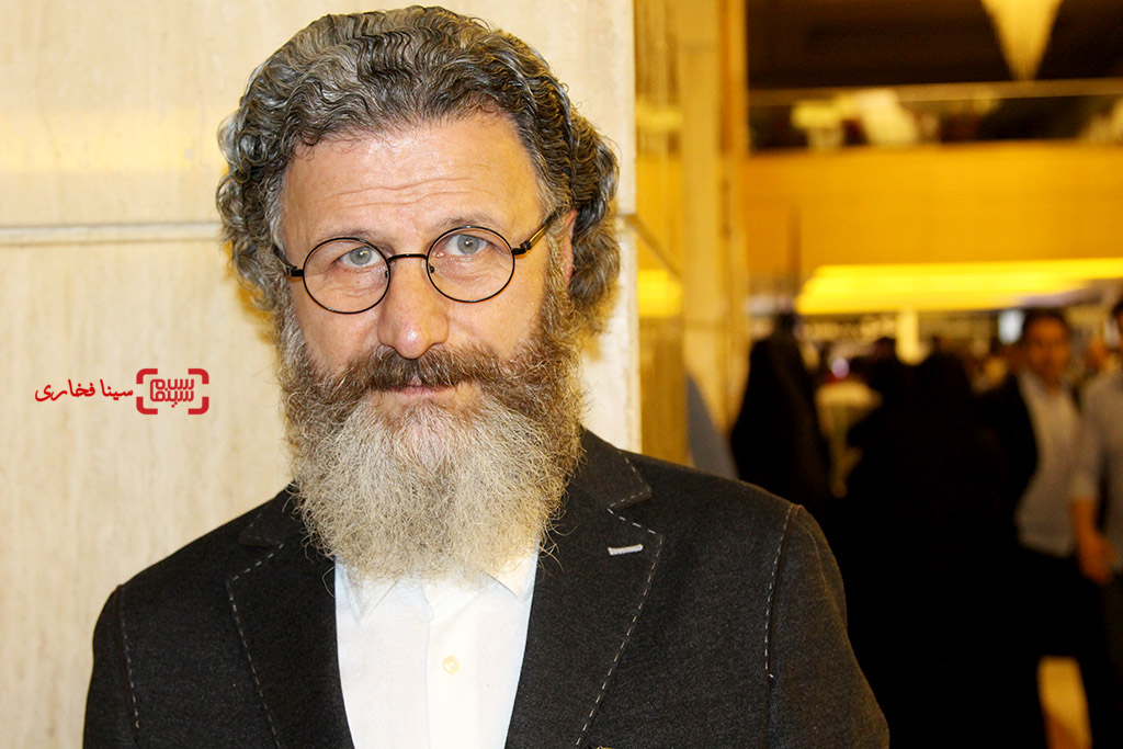 بهرام عظیمی در اختتامیه جشنواره فیلم مقاومت