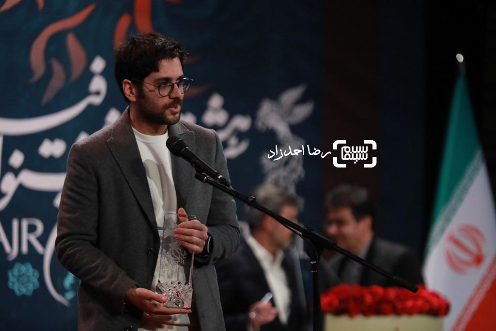 بامداد افشار - گزارش تصویری - اختتامیه جشنواره فیلم فجر 38(بخش اول)