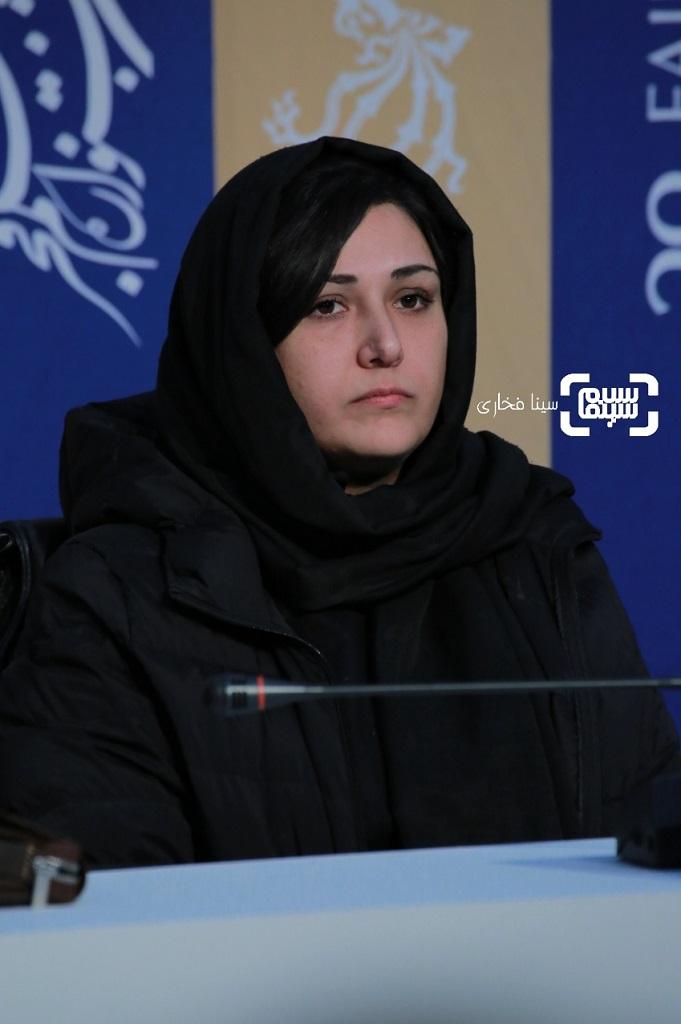 باران کوثری - نشست خبری «عامه پسند» در جشنواره فجر 38