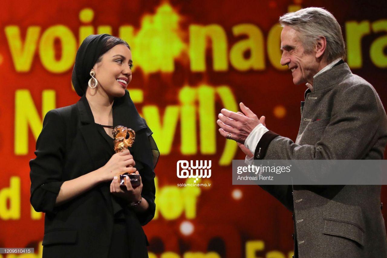 باران رسول اف - جرمی ایرونز - اختتامیه جشنواره فیلم برلین 2020- فیلم شیطان وجود ندارد