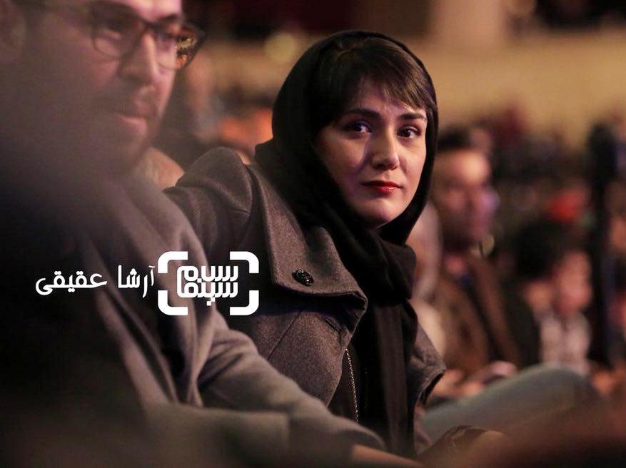 باران کوثری در اختتامیه سی و ششمین جشنواره فیلم فجر