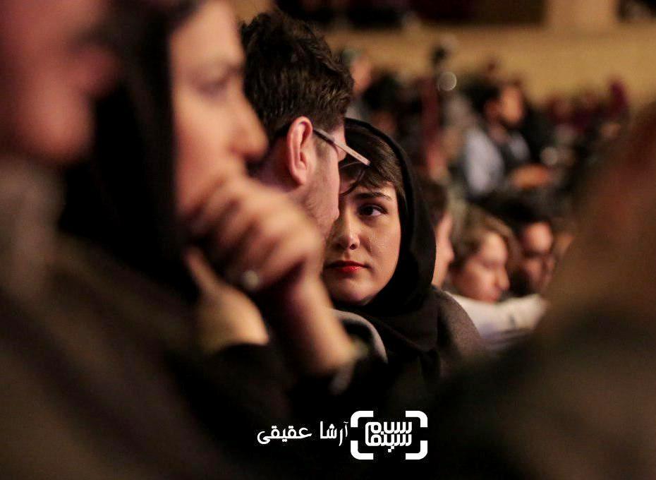 باران کوثری و سهیل بیرقی در اختتامیه سی و ششمین جشنواره فیلم فجر