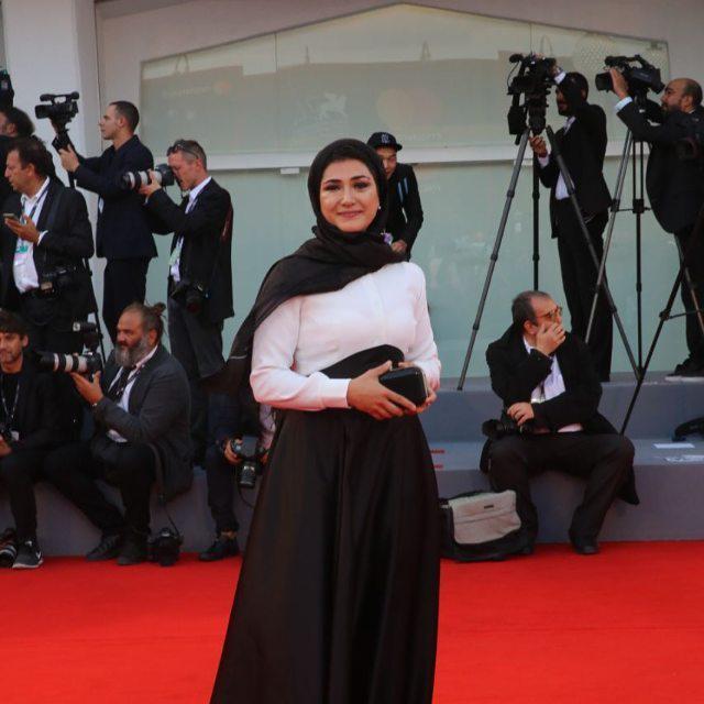 باران کوثری در اختتامیه جشنواره فیلم ونیز