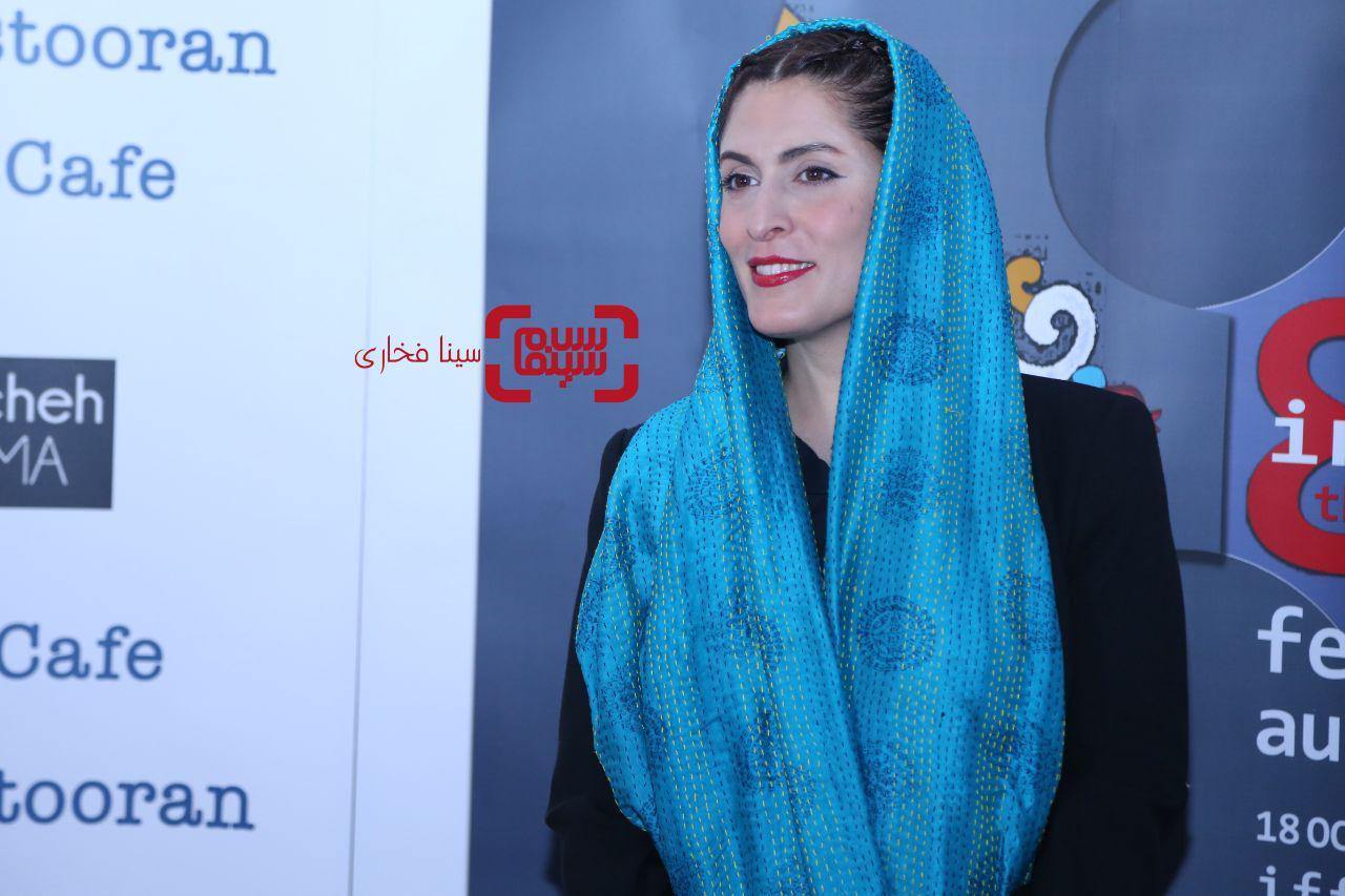 عکس بهناز جعفریدر هشتمین جشنواره فیلمهای ایرانی استرالیا