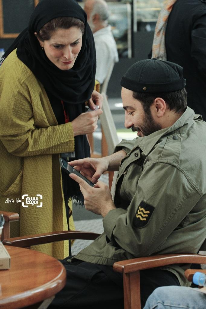 عکس نوید محمدزاده وبهناز جعفریدر روز دوم سی و هفتمین جشنواره جهانی فیلم فجر