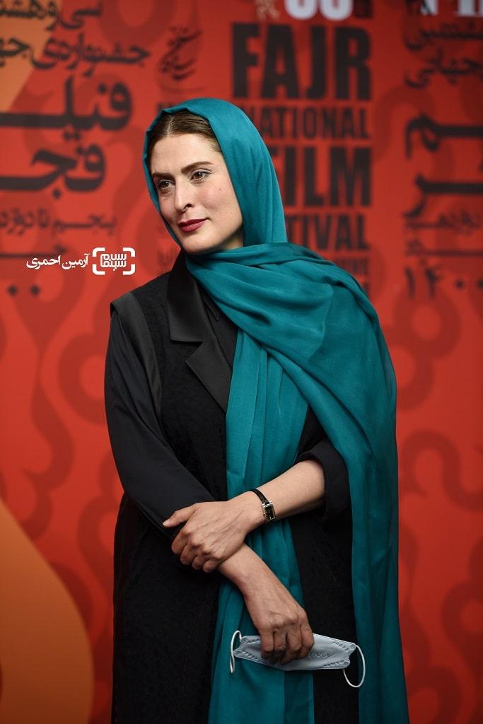 بهناز جعفری - اکران شهربانو - سی و هشتمین جشنواره جهانی فیلم فجر