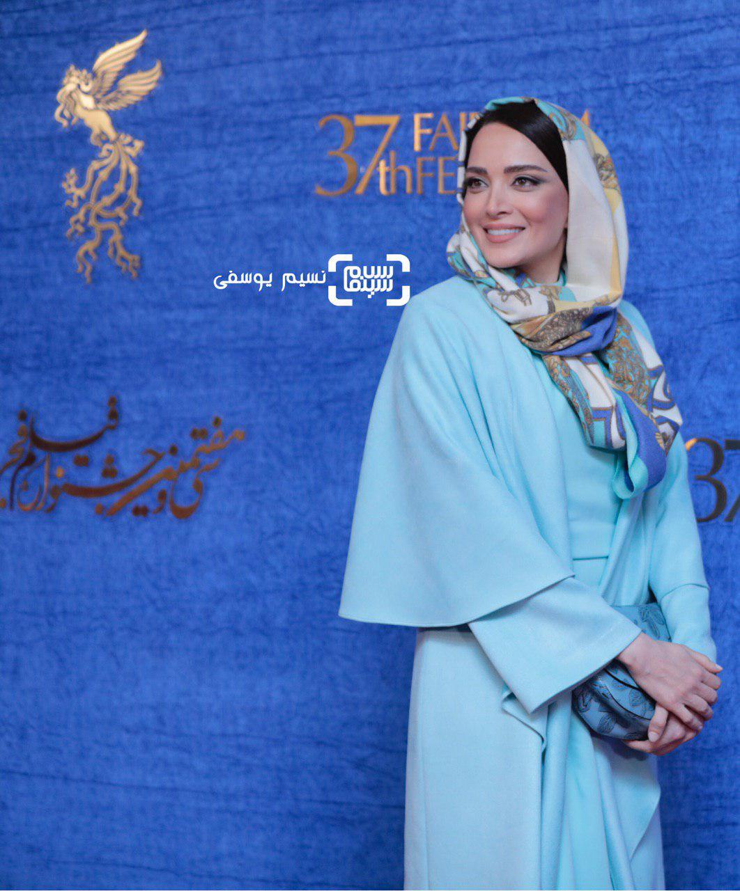 بهنوش طباطبایی گزارش تصویری اکران و نشست فیلم «غلامرضا تختی»/جشنواره فجر 37